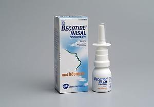Becotide Nasal, 50 mikrogram/dos, 100 doser