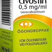 Livostin ögondroppar, 4 ml