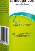 Livostin nässpray, 150 doser